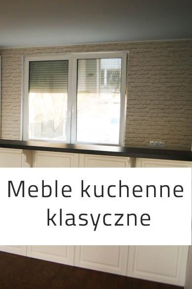 Meble kuchenne, wykonywane do zabudowy; Meble Impact.